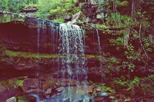Popokvil waterfall near Kampot