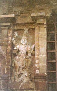Shiva sculpture Thanjavur