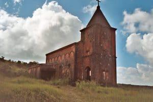 church at Bokor hill station
