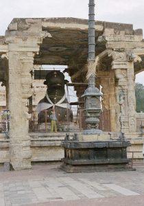 holy cow in Brihadishvara temple