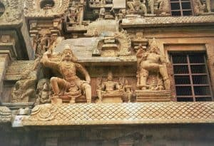stopover in Thanjavur temple detail