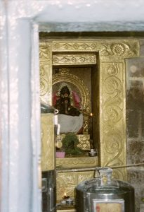 Ganesh image in niche