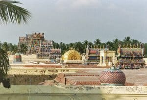 exploration of Trichy view of Raganathaswamy temple