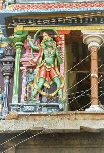 Hanuman sculpture in Trichy
