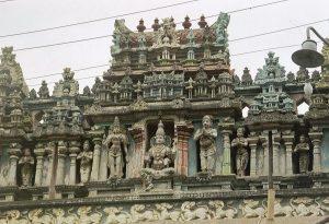 Meenakshi temple decoration