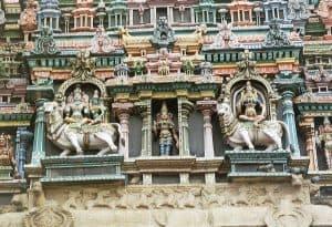 Madurai temple sculptures
