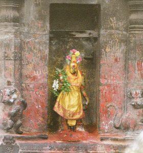 Meenakshi statue Madurai