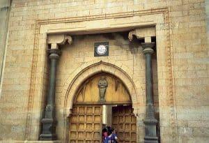 Nayak palace entrance