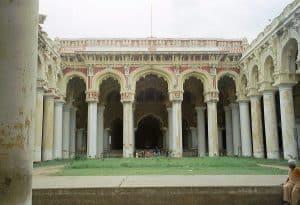 courtyard inside Nayak palace