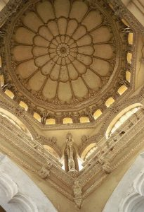 ornamented ceiling Nayak palace
