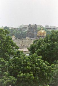 another Meenakshi temple rooftop view