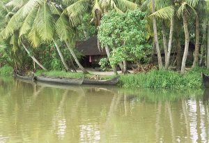 prao boats at Kerala