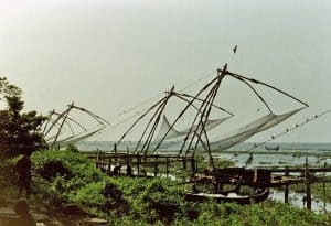 Chinese fishing nets at Kochi