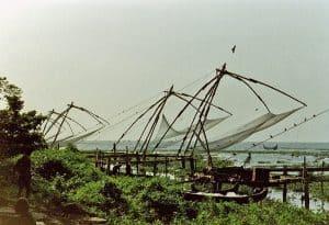 Chinese fishing nets at Kochi