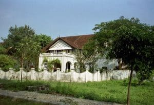 European-influenced house at Fort Kochi