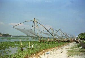 Fort Cochin Chinese fishing nets