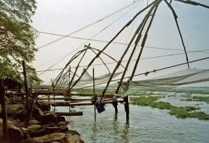 Fort Cochin: fishing nets