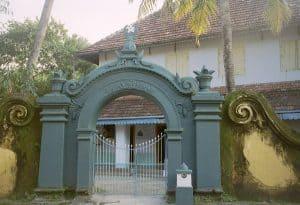 mosque entrance in Mattancherry district