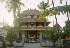Fort Kochi Hindu temple entrance