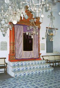 Paradesi synagogue shrine
